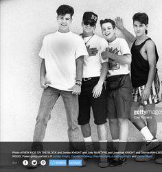 New Kids on the Block 1990.