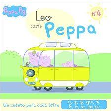 Leo con Peppa es un sistema divertido y muy accesible para que los más pequeños empiecen a dar sus primeros pasitos en el mundo de la lectura.