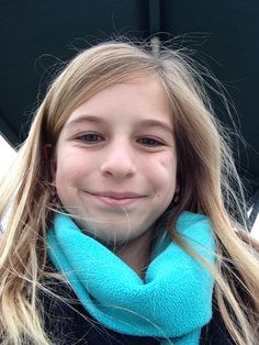 Perfect selfie at school  PS was in car waiting line