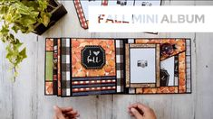 Mini Scrapbook Albums, Mini Albums, Handmade Scrapbook, Mini Album Tutorial, Memory Books, You Are Awesome, Good Books, Card Making, Manualidades