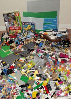 18+ lbs Bulk Lot of LEGO Bricks Vehicles Minifigures Friends (some new sealed) #LEGO