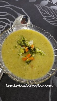 Cream of carrot soup broccoli Baby Food Recipes, Soup Recipes, Dinner Recipes, Turkish Recipes, Ethnic Recipes, Best Pasta Salad, Turkish Kitchen, Broccoli Soup, Carrot Soup