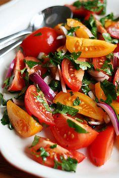 Salade de Tomates Espagnole