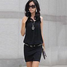 KissTies®Women's Elegant Cotton Fashion Dress – USD $ 8.98