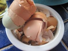 use eggshells in your veggie garden to protect against slugs