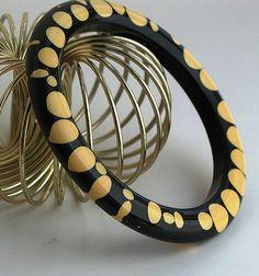 Amazing Rare Bakelite Bangle Bracelet