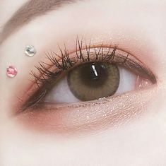 Look at the webpage to read more about everyday makeup - Makeup Looks Korean Korean Makeup Look, Korean Makeup Tips, Korean Makeup Tutorials, Asian Eye Makeup, Makeup Eye Looks, Cute Makeup, Kiss Makeup, Makeup Art, Beauty Makeup