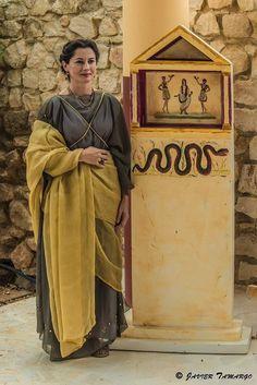 Vlpia Aelia by Javier Tamargo Historical Costume, Historical Clothing, Ancient Rome, Ancient Art, Roman Dress, Roman Clothes, Roman Era, Roman Fashion, Flavio