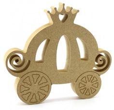 18mm Freestanding Princess Carriage blank craft shapes http://www.lornajayne.co.uk/
