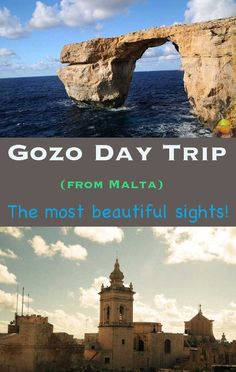 Gozo (island in Malta) day trip from Malta via Ferry | How to get to Gozo | What to see in Gozo | Beaches in Gozo | Azure window #gozo #malta #azurewindow #GOT #rockybeach