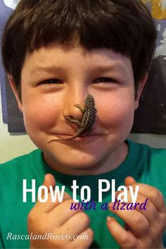Can a lizard play? This boy and his pet reptile sure know how to bond. Cute animal video of how to play with your lizard. Great tips for a new reptile owner. Are you following #ReptileCare with us and @PetMD @PetSmart ? Learn how to care for your pet turtle, snake, bearded dragon and more. Great place to learn all about reptile needs