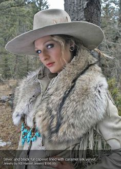 Coyote Couture Colorado's exquisite furs are an elegantly simple  fashionstatement.