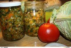 Zelenina na zimu Krabi, Mason Jars, Grains, Homemade, Vegetables, Food, Veggies, Mason Jar, Home Made