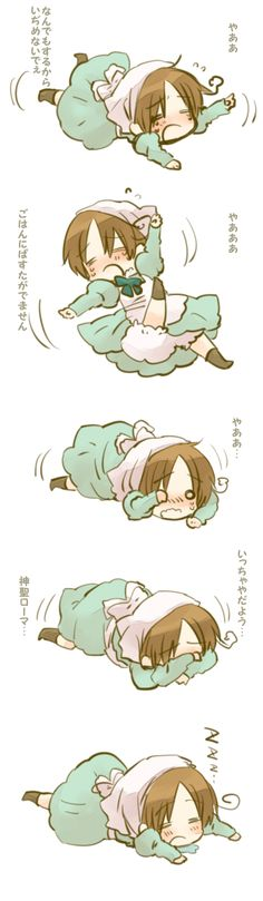 Hetalia - Chibitalia (Holy mother of cute that is so adorable!)