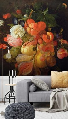 From beautiful botanical prints to amazing abstract designs, choose your perfect wallpaper from a vast collection. All wallpapers are made to your dimensions and printed onto a selection of high-quality wallpapers including peel and stick wallpaper - great for rented homes! Click to transform your living room...