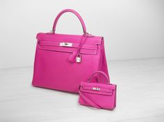 71264e9821ff A ROSE TYRIEN AND RUBIS EPSOM LEATHER CANDY KELLY BAG