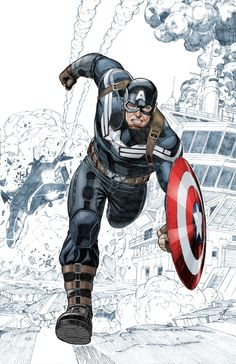 Captain America by Sean Chen *