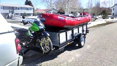Click image for larger version Name: Views: 1404 Size: MB ID: 7846 Trailer Build, Boat Trailer, Rafting, Mountain Buzz, Fishing Boats, Fly Fishing, Adventure Trailers, Down The River, Inflatable Boat
