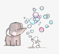 Falling Star Nursery Art Illustration Print by ohhellodear Cute Drawings, Animal Drawings, Image Deco, Cute Elephant, Elephant Print, Baby Art, Baby Prints, Watercolor Illustration, Nursery Art