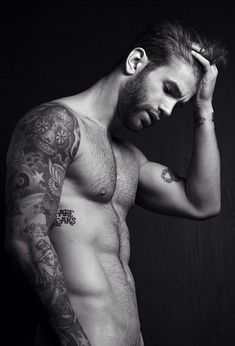 Andre Hamann sooo fuckinggg gorcheous with his tattoos