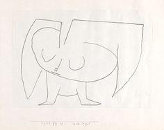 パウル・クレー『むしろ鳥』1939年 パウル・クレー・センター(ベルン)蔵 ©Zentrum Paul Klee c/o DNPartcom