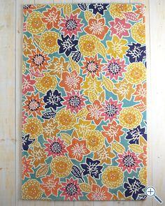 Catalina floral rug