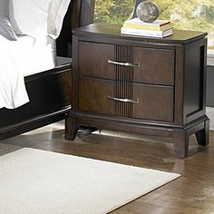 Woodbridge Home Designs Daytona 2 Drawer Nightstand