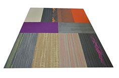 "Dean Flooring Company Affordable 36"" x 18"" Commercial Carpet Tile - Random Assorted Colors - 45 Square Feet (10 Pieces) Dean Flooring Company http://www.amazon.com/dp/B00XRXUOYY/ref=cm_sw_r_pi_dp_p7Z7wb003SGS1"