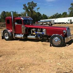 Catering Services Ogden, Utah: We make catering easy!- One of my customer hand built street rod truck! He has a trike and a motorcycle all made with a semi design. Rat Rod Trucks, Big Rig Trucks, Diesel Trucks, Cool Trucks, Pickup Trucks, Cool Cars, Truck Drivers, Rat Rods, Semi Trucks
