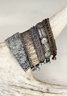 bracelets by the style files, via Flickr