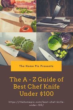 For everyday kitchen tasks,a chef knife is one vital tool.But high-quality knives have quite an expensive price tag.Right here, we covered 10 best chef knife under 100 you can find. Best Chefs Knife, Home Pictures, Best Budget, Chef Knife, Kitchen Knives, Kitchen Accessories, Kitchen Fixtures, Cookware Accessories, Kitchen Supplies