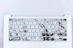 Marble Macbook Keyboard Cover Laptop Keyboard Covers, Laptop Computers, Computer Keyboard, College Necessities, School Essentials, Macbook Pro Skin, Macbook Case, Accessoires Iphone, Apple Laptop