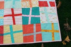 Image result for wonky block quilt pattern