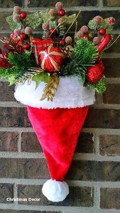 Diy Outdoor Christmas Porch Decorating Ideas Ideas For 2019 Christmas Decor Diy Cheap, Christmas Garden Decorations, Christmas Porch, Christmas Design, Christmas Wreaths, Christmas Crafts, Christmas Ornaments, Holiday Decor, Homemade Christmas
