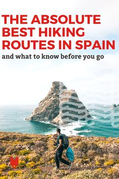 Whether you're based in Madrid, Barcelona, Andalusia or anywhere in between, you're never far away from some amazing hiking in Spain. This guide has everything you need to know, including the best routes, how to travel to and from them from the nearest city, how to plan your itinerary, and so much more. Hiking Routes, Go Hiking, Spanish Culture, River Trail, Madrid Barcelona, Best Hikes, Andalusia, Spain Travel, Malaga