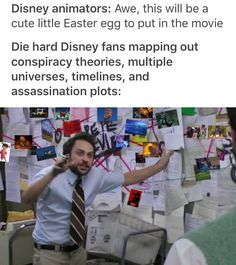 This is so true. I honestly think they do it on purpose to see us obsess over it. Disney easter eggs