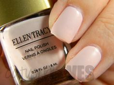 datyorkLOVES: Ellen Tracy Light Pink Nude Nail Polish Vernie A Ongles
