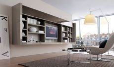 Dream up your perfect modern space. Whether that vision includes contemporary furniture such as a sleek coffee table, an Italian modular wall unit, elite chaise lounge, or luxury media TV stand for your new flat screen, all of your designer furniture is here