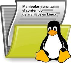 Manipular y analizar el contenido de archivos en Linux