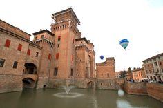 Ferrara, Italy is a city and comune in Emilia-Romagna