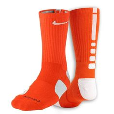 Orange Nike Shoes That Are Kind Of Like A Sock