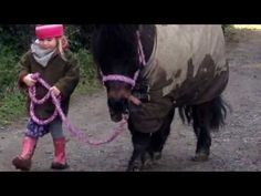 Skye and her Shetland pony - will warm your ♥