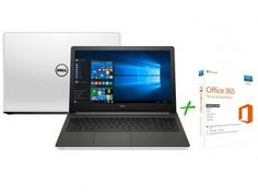 "Notebook Dell Inspiron 15 I15-5558-B40 Intel Core - i5 8GB 1TB LCD 15,6"" + Office 365 Personal"