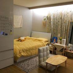 Home Decoration Ideas Photo Room Design Bedroom, Small Room Bedroom, Room Ideas Bedroom, Bedroom Decor, Korean Bedroom Ideas, Bedroom Shelves, Bedroom Signs, Master Bedroom, Ideas Decorar Habitacion