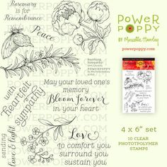 Soothing Sympathy Stamp Set