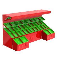 AR 70 - Manav Reyonu Vegetable Crates, Vegetable Shop, Fruit And Veg Shop, Veggie Display, Vegetable Decoration, Vegetable Packaging, Farmers Market Display, Supermarket Design, Food Retail