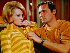 Still of Angie Dickinson and John Vernon in Point Blank