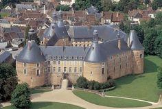 Saint Fargeau (Yonne) #chateau #Puisaye #Bourgogne