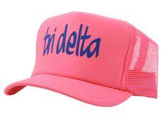 Tri Delta Neon Trucker Hat