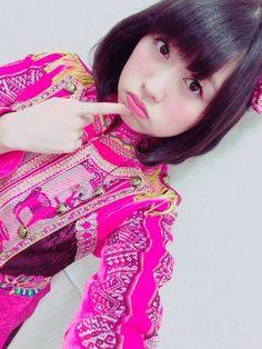 ぶりっこ顔の佐々木彩夏さん